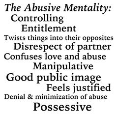 In signs of marriage abuse mental Six Signs
